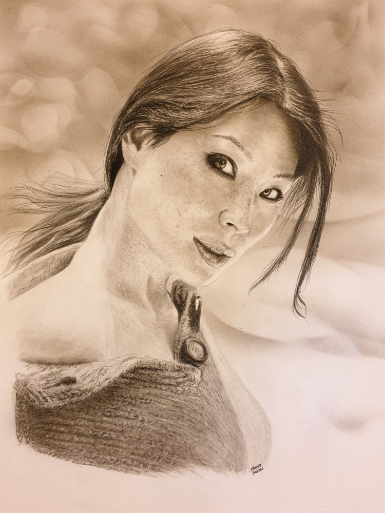 Lucy Liu par chanoir